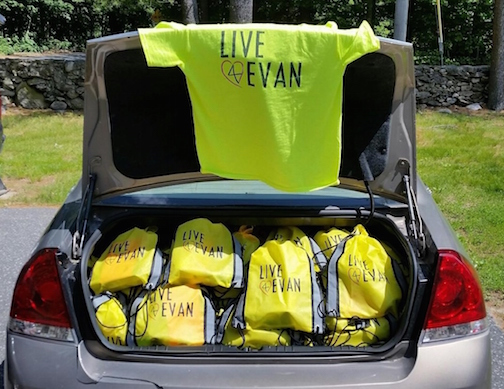 Live4Evan Backpack Program
