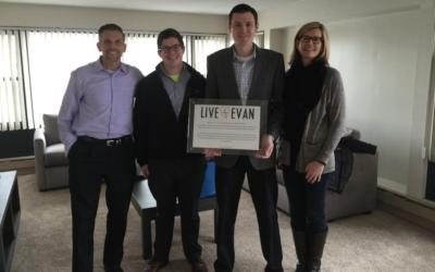 Live4Evan Signs Longwood Galleria Lease
