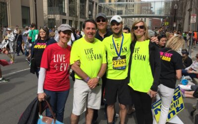 Live4Evan Team Finishes the 2017 Boston Marathon