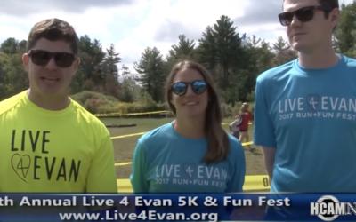 HCAM: 5th Annual Live4Evan Run + Fun Fest