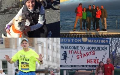 2018 Boston Marathon Runners