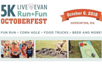 Register Today: 2018 Annual 5K Run + Fun Octoberfest